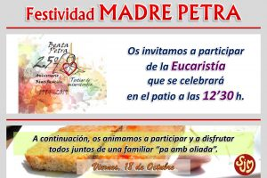 Cartel Web Madre Petra 19-20