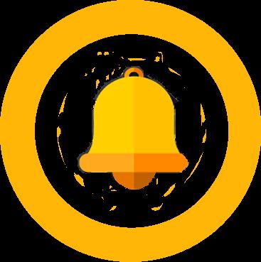 notificacion naranja