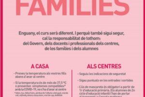 Reuniones familias y fechas inicio curso alumnado ESO
